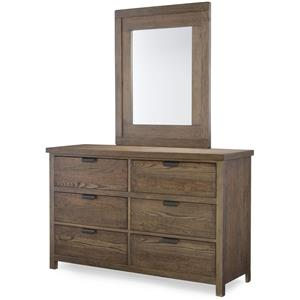 Legacy Classic Kids Fulton County Dresser and Mirror Set