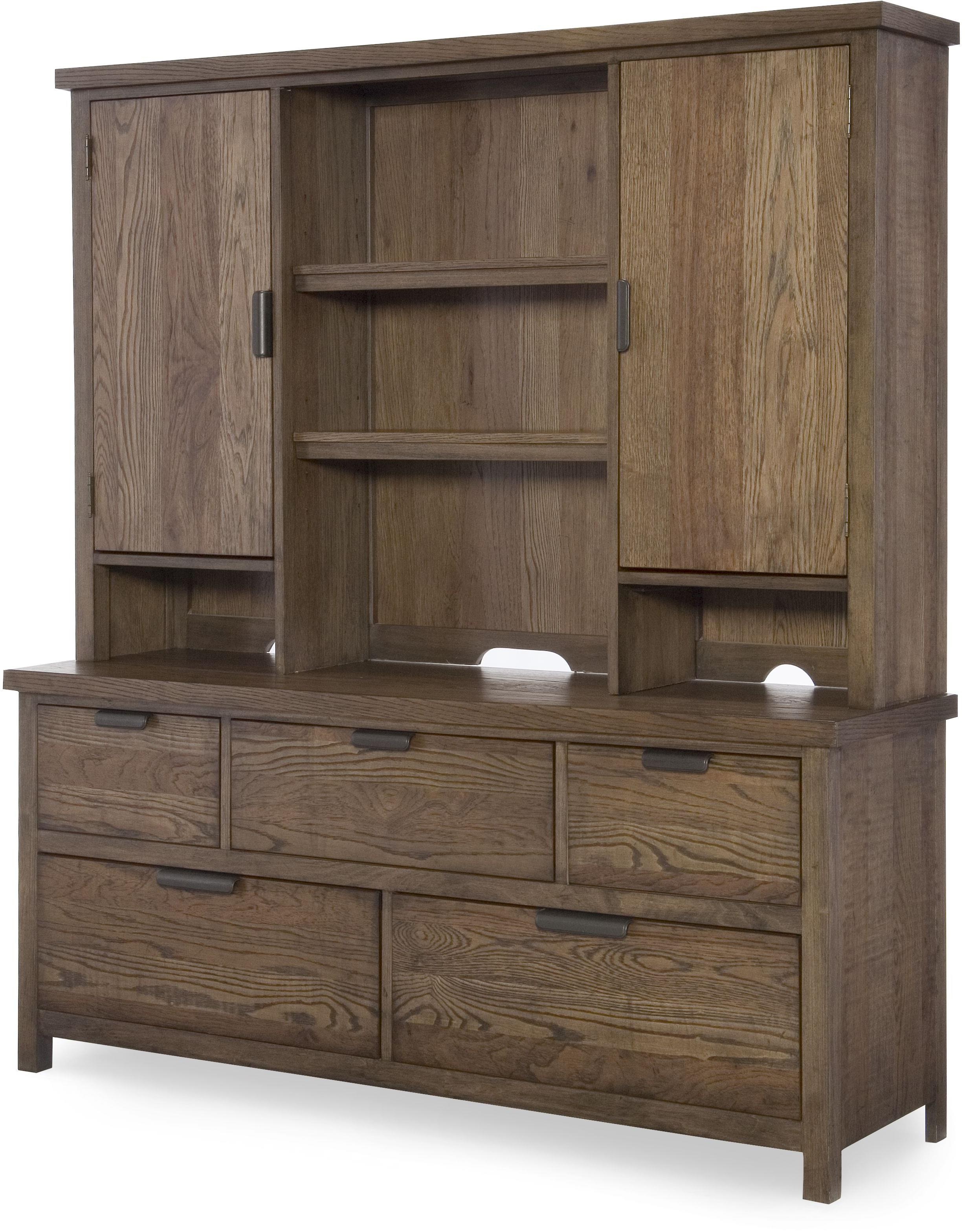 Legacy Classic Kids Fulton County Dresser with Hutch - Item Number: 5900-1200+7202