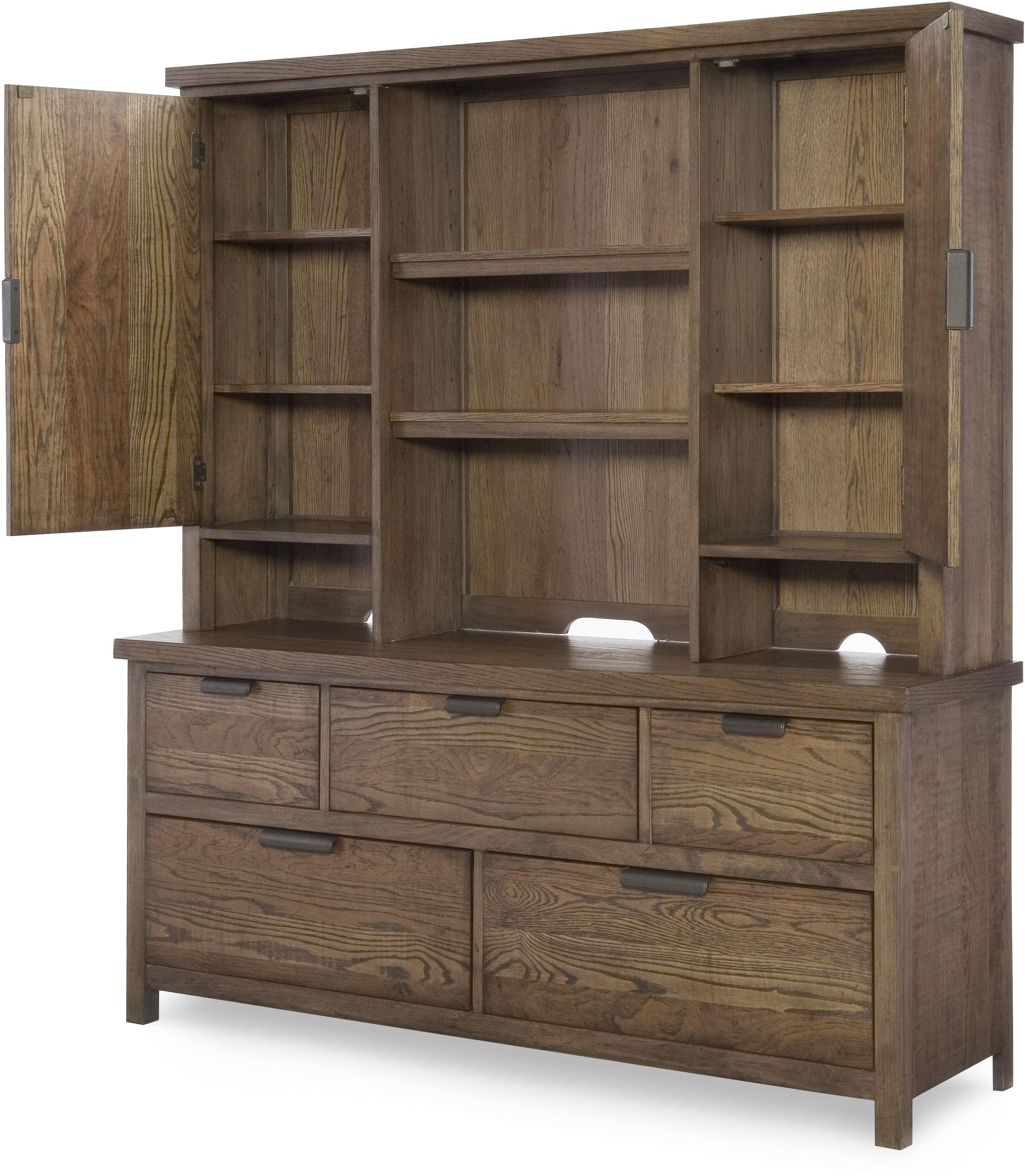 Legacy Classic Kids Fulton County 5 Drawer Dresser With Hutch Hudson 39 S Furniture Dressers