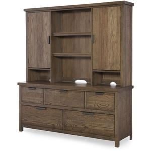 Legacy Classic Kids Fulton County 5-Drawer Dresser with Hutch