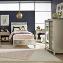 Legacy Classic Kids Glitz and Glam Full Bedroom Group - Item Number: 8800 F Bedroom Group 3
