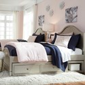 Legacy Classic Kids Glitz and Glam Twin Panel Bed - Item Number: 8800-4103K+9300
