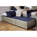 Legacy Classic Kids Glitz and Glam Glam Twin Panel Bed with Trundle and Storage