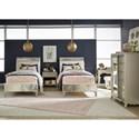 Legacy Classic Kids Glitz and Glam Glam Full Upholstered Mermaid Bed