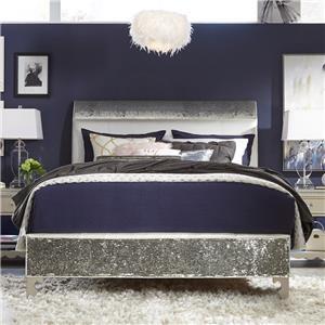 Queen Upholstered Mermaid Bed