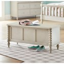 Legacy Classic Kids Grace Cottage Storage Chest with Turned Spindle Posts