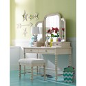 Legacy Classic Kids Grace Cottage Writing Desk with Turned Spindle Posts
