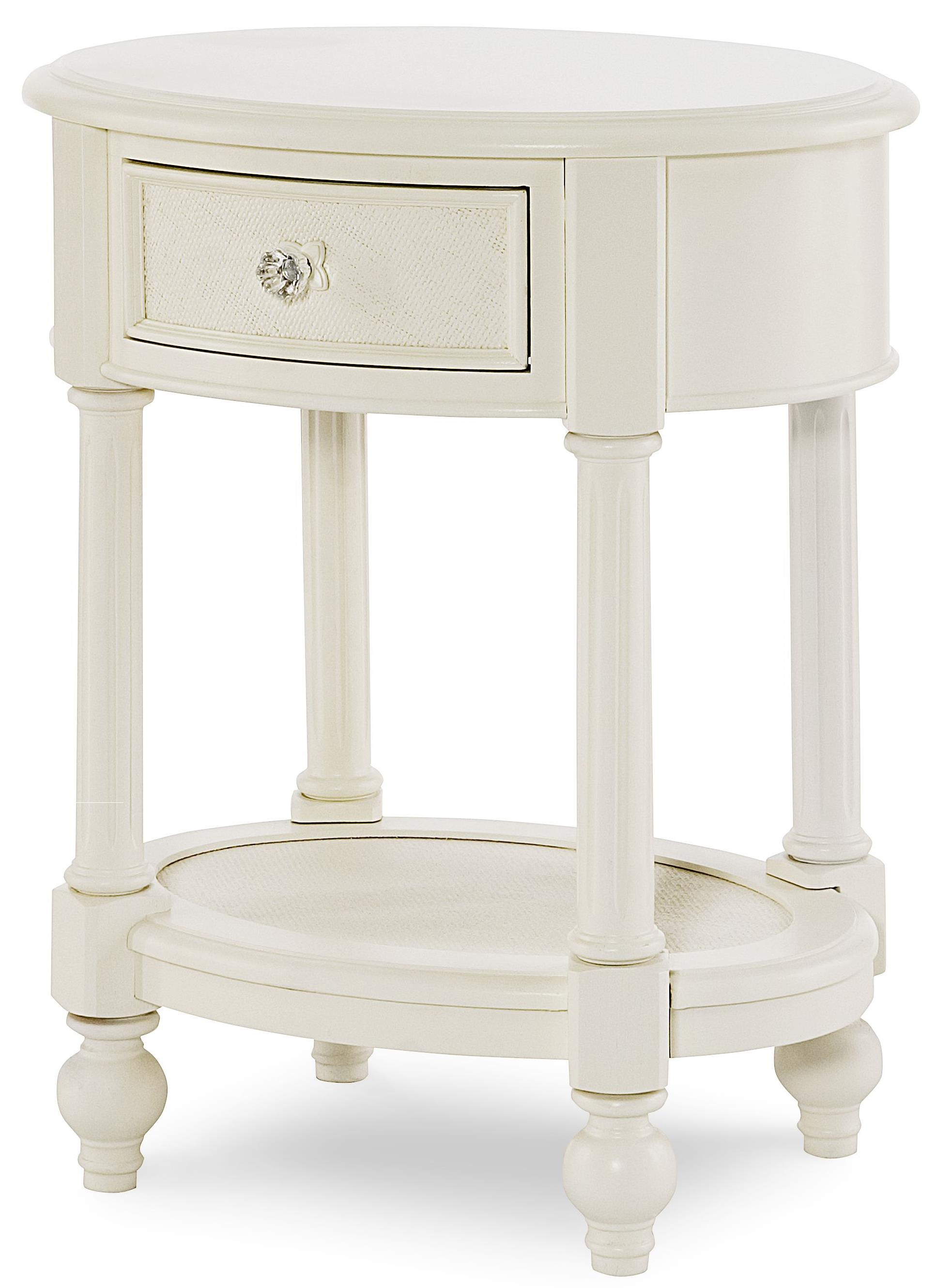 Legacy Classic Kids Harmony Oval Night Stand  - Item Number: 4910-3101