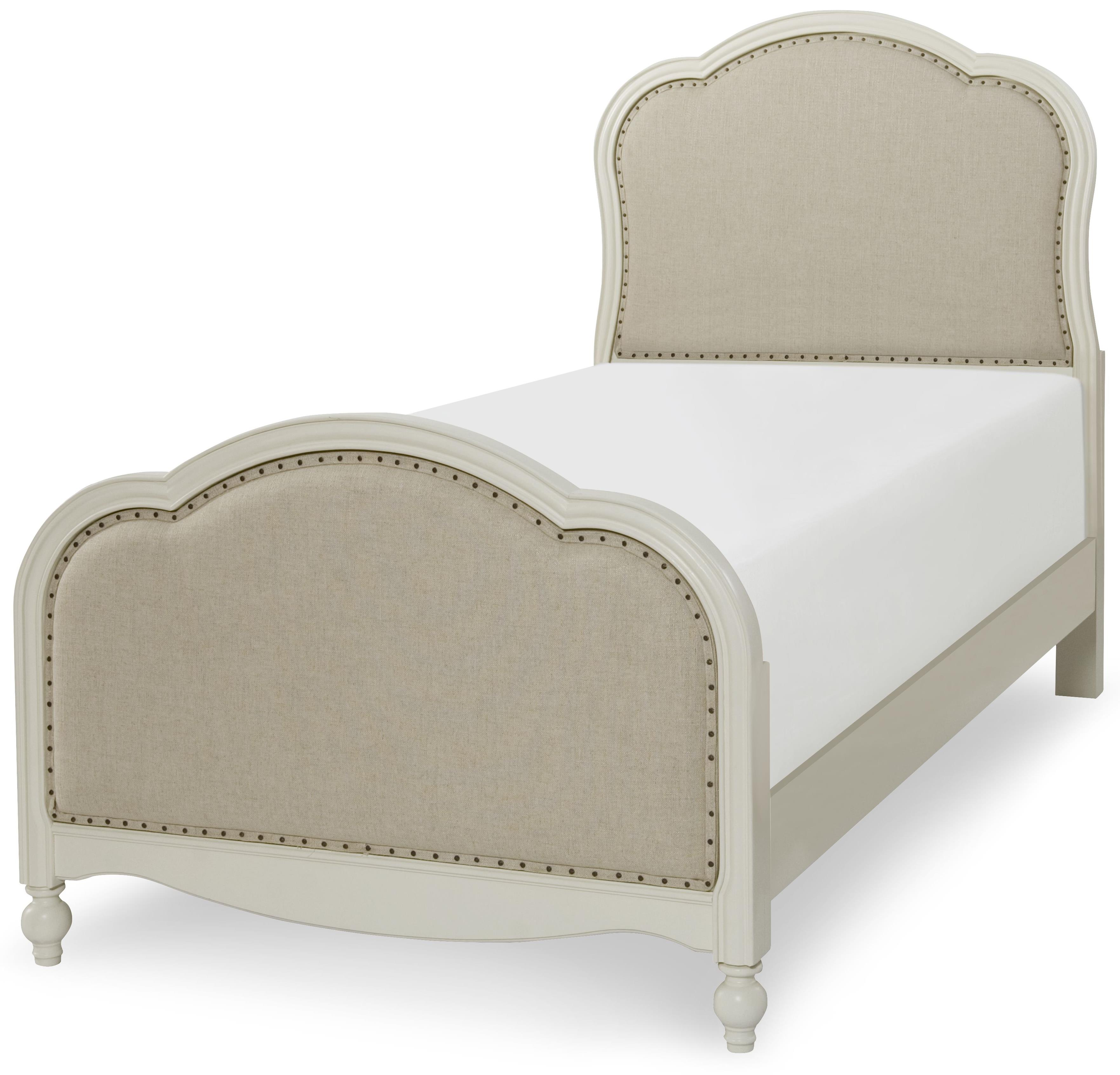 Legacy Classic Kids Harmony Victoria Upholstered Panel Twin Bed - Item Number: 4910-4803K