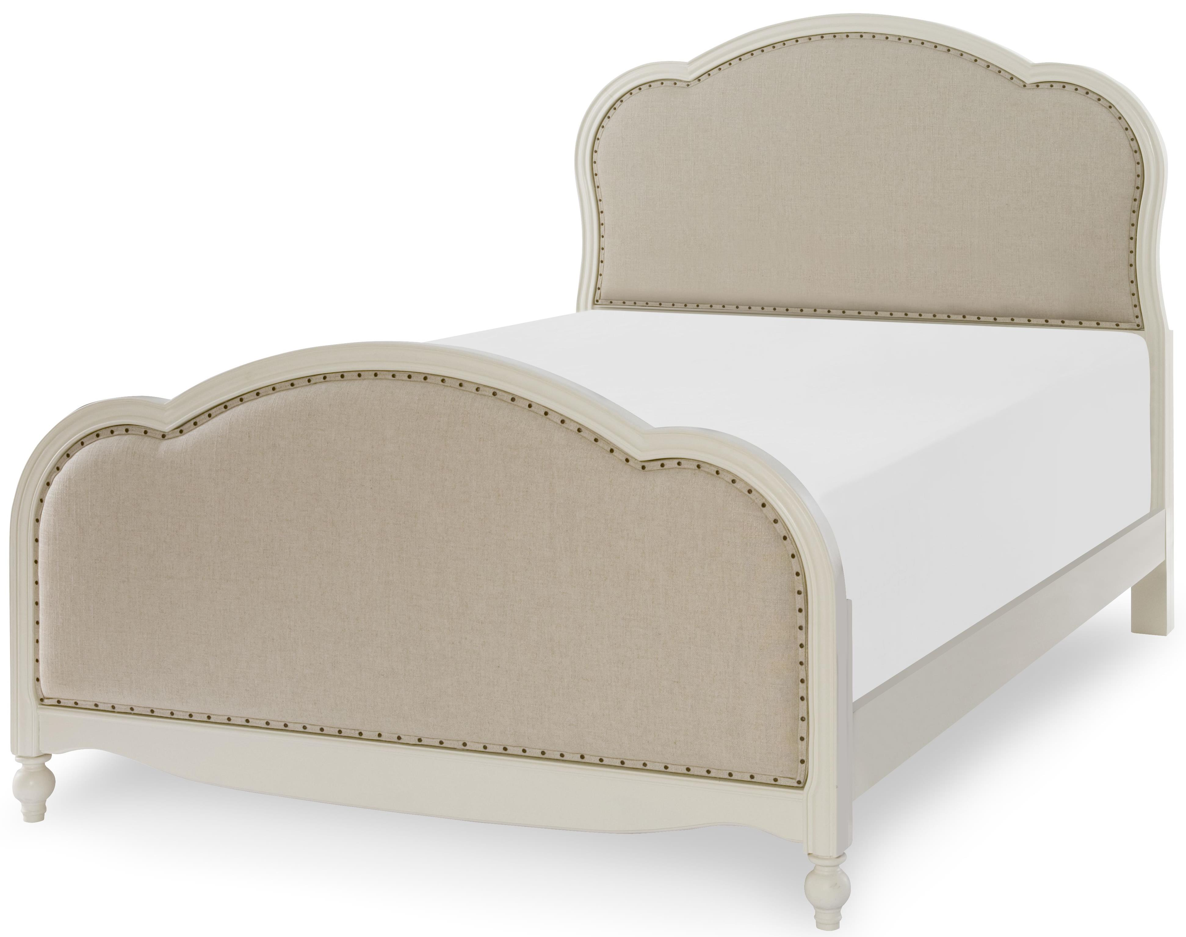 Legacy Classic Kids Harmony Victoria Upholstered Panel Full Bed - Item Number: 4910-4804K