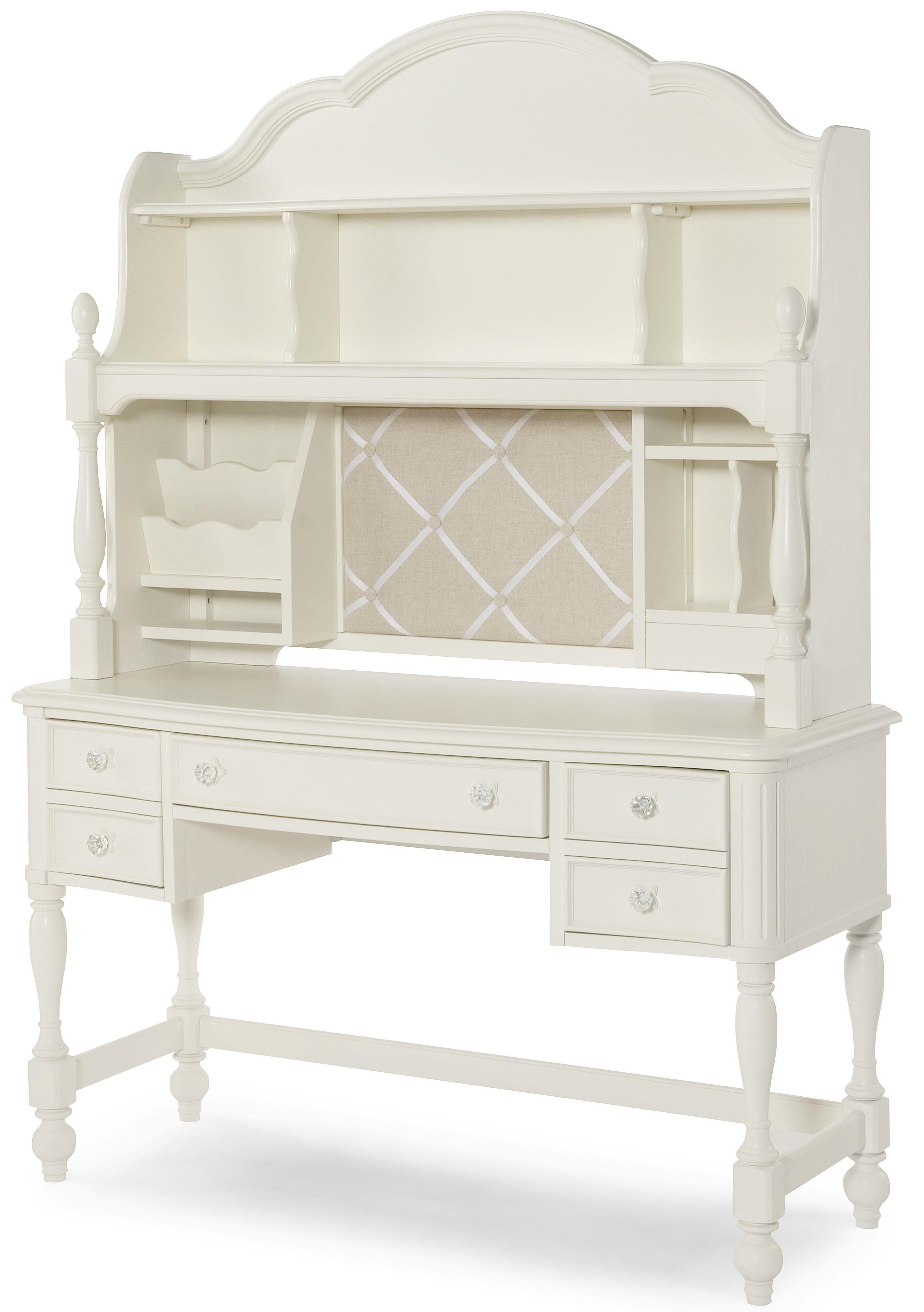 Legacy Classic Kids Harmony Desk And Desk Hutch With 3 Way Touch