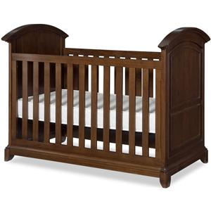 Legacy Classic Kids Impressions Stationary Crib with Line Molding