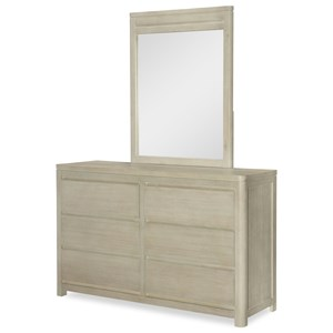 Legacy Classic Kids Indio by Wendy Bellissimo Dresser with Mirror