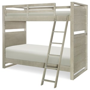 Legacy Classic Kids Indio by Wendy Bellissimo Twin over Twin Bunk Bed
