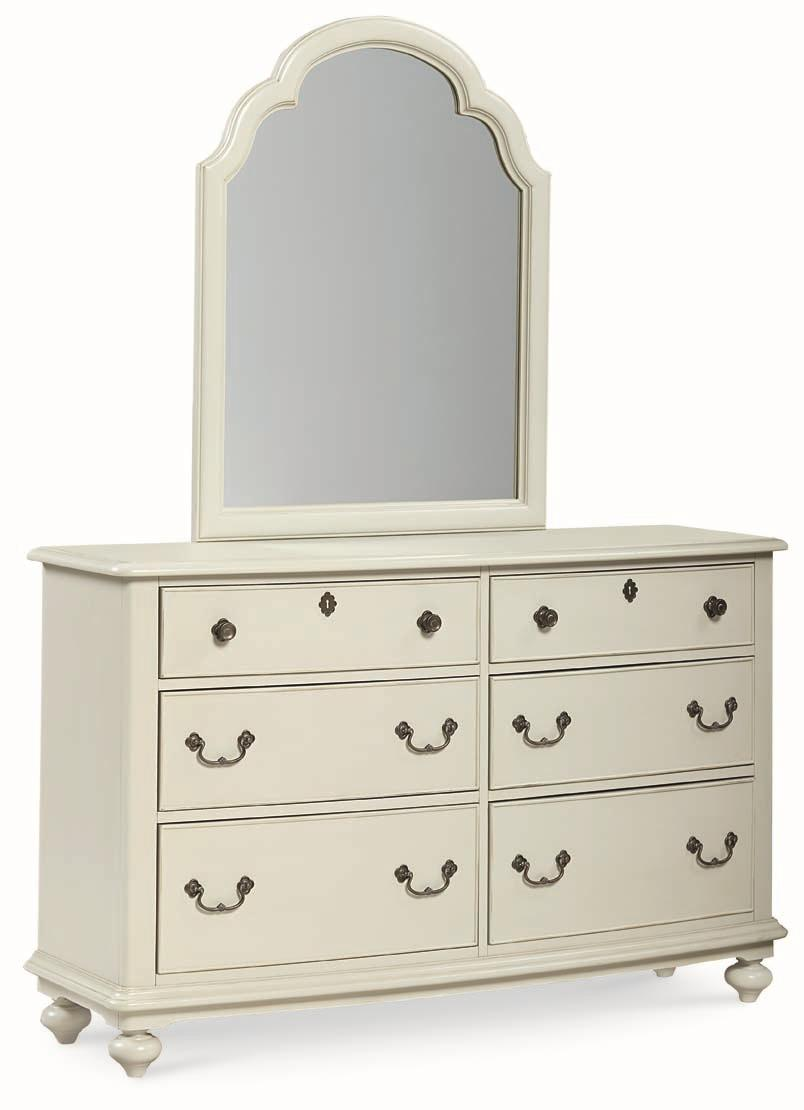 Legacy Classic Kids Inspirations By Wendy Bellissimo 6 Drawer Dresser With Arched Portrait