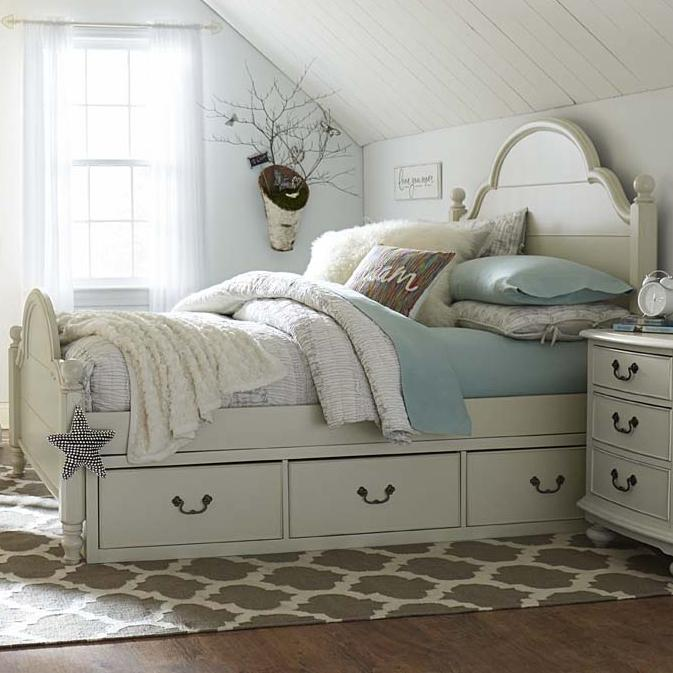 Legacy Classic Kids Inspirations by Wendy Bellissimo Twin Bed - Item Number: 3830-4203+4213+4900+2x9300