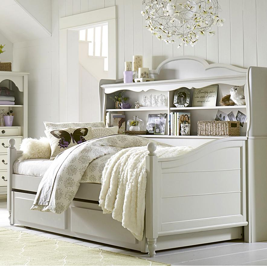 Legacy Classic Kids Inspirations by Wendy Bellissimo Twin Bed - Item Number: 3830-5601+5622+9500