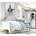 Legacy Classic Kids Inspirations by Wendy Bellissimo Twin Westport Low Poster Panel Daybed - Trundle/Storage Drawer Shown Is Not Included