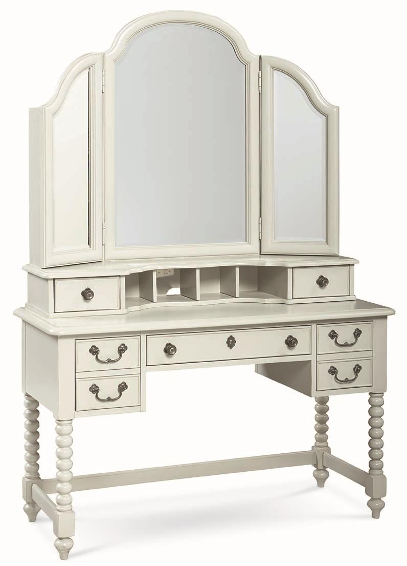 Legacy Classic Kids Inspirations by Wendy Bellissimo Desk and Mirror Combo - Item Number: 3830-6100+6201