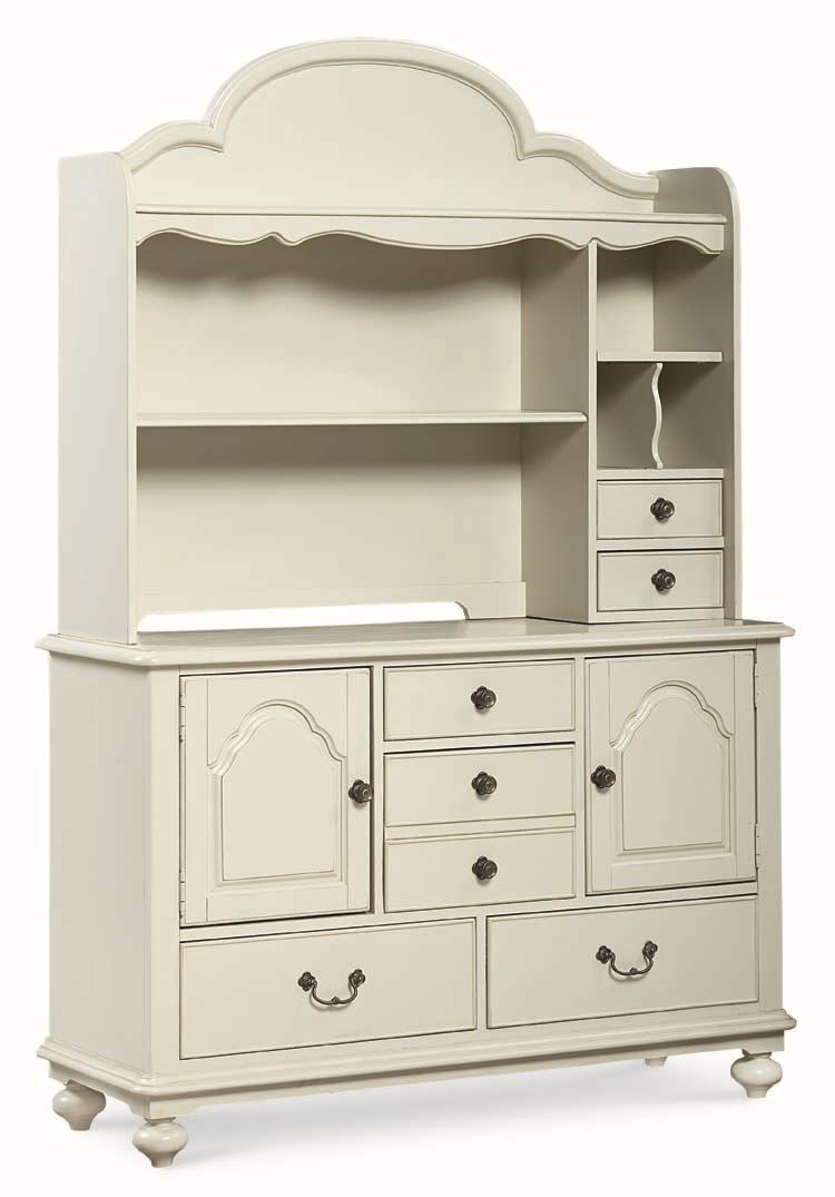 Legacy Classic Kids Inspirations by Wendy Bellissimo Dresser and Hutch - Item Number: 3830-7201+1300