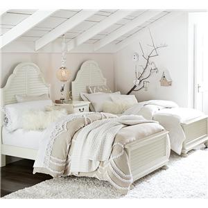 Legacy Classic Kids Inspirations by Wendy Bellissimo Twin Bedroom Group 3