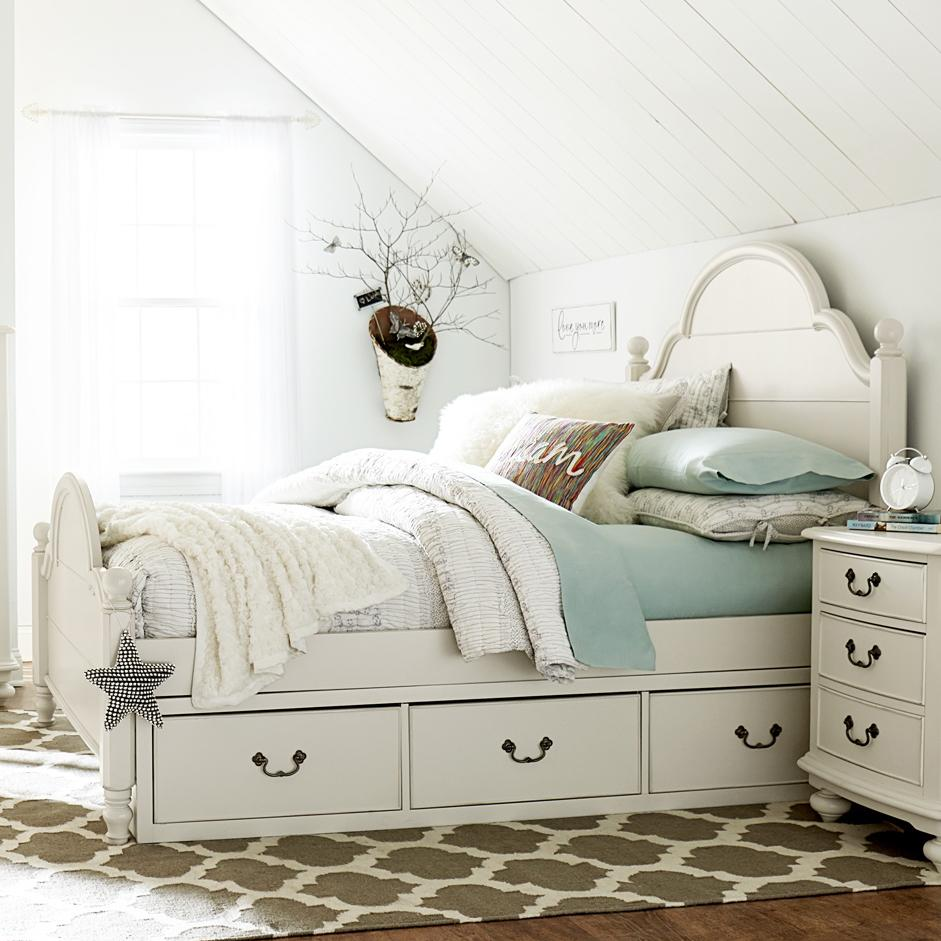 Legacy Classic Kids Inspirations by Wendy Bellissimo Twin Bed - Item Number: 3832-4203+4213+4900+2x9300