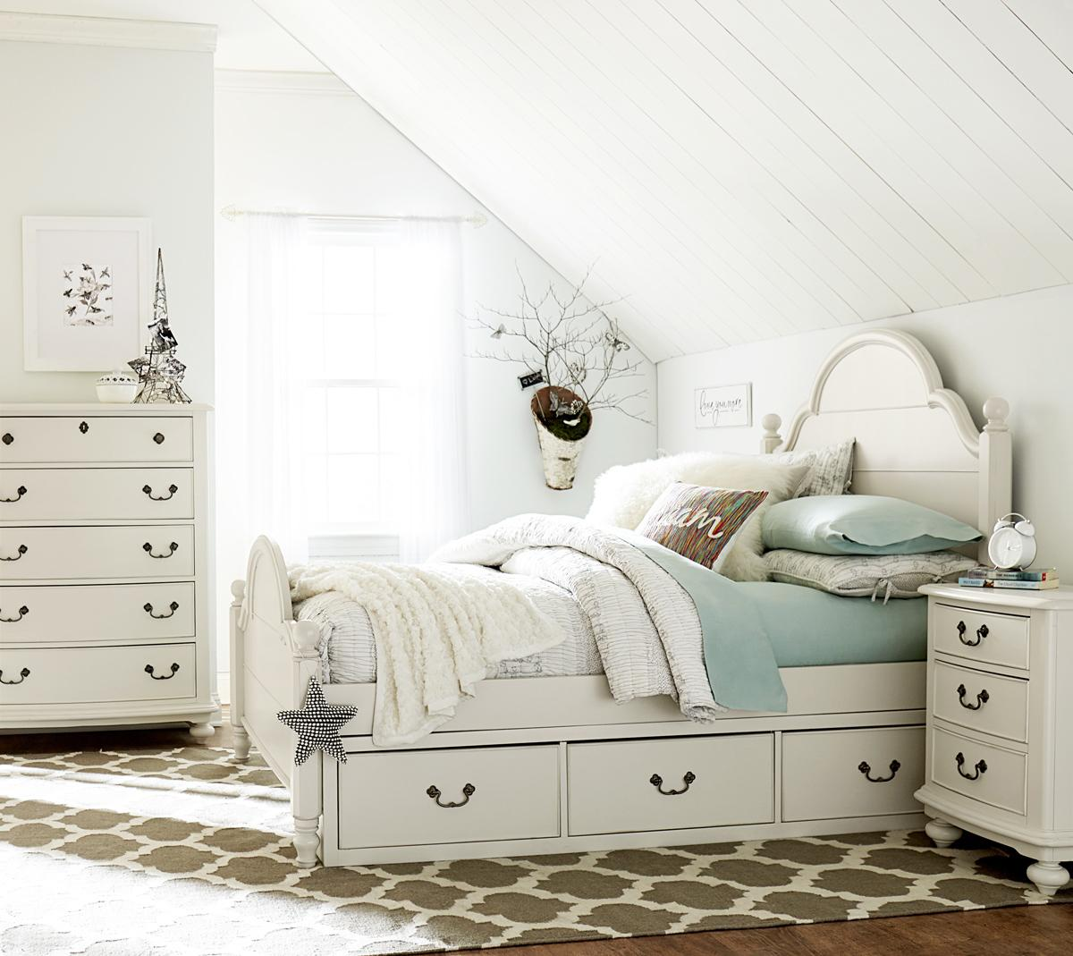 Legacy Classic Kids Inspirations By Wendy Bellissimo Full Westport Low Poster Bed With Underbed