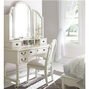 Legacy Classic Kids Inspirations by Wendy Bellissimo Desk and Mirror Combo