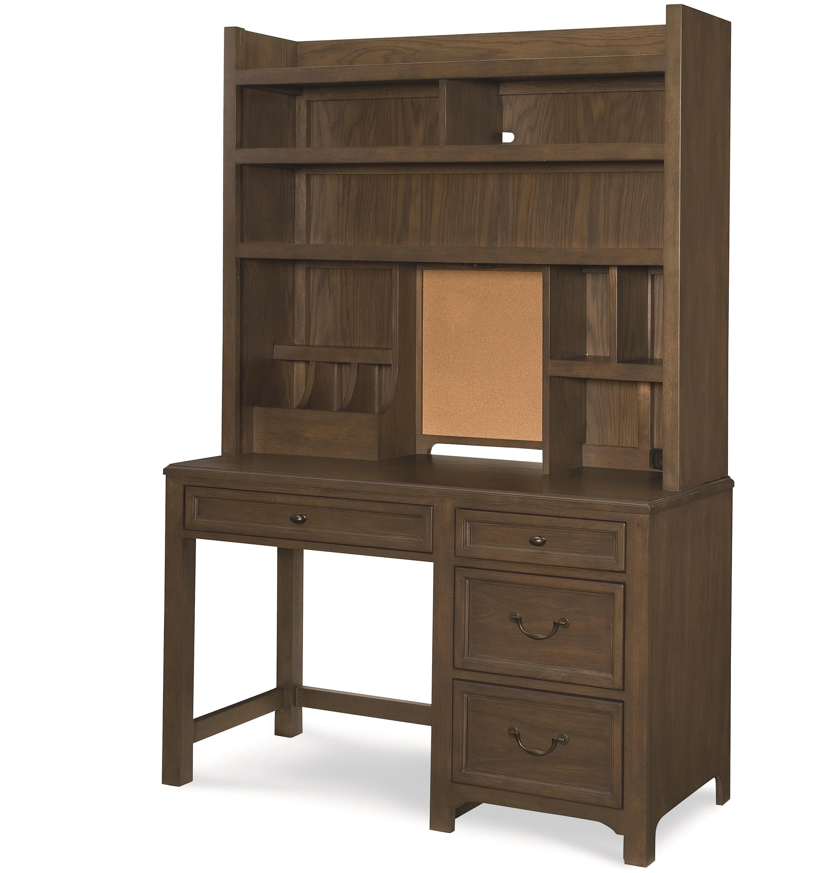 Legacy Classic Kids Kenwood Desk and Hutch - Item Number: 4800-6100+6200