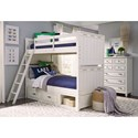Legacy Classic Kids Lake House Twin-over-Twin Bunk Bedroom Group - Item Number: 8971 T Bedroom Group 2