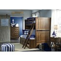 Legacy Classic Kids Lake House Twin-over-Full Bunk Bedroom Group - Item Number: 8974 F Bedroom Group 2
