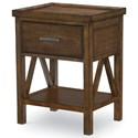 Legacy Classic Kids Lake House Open Nightstand - Item Number: 8974-3101