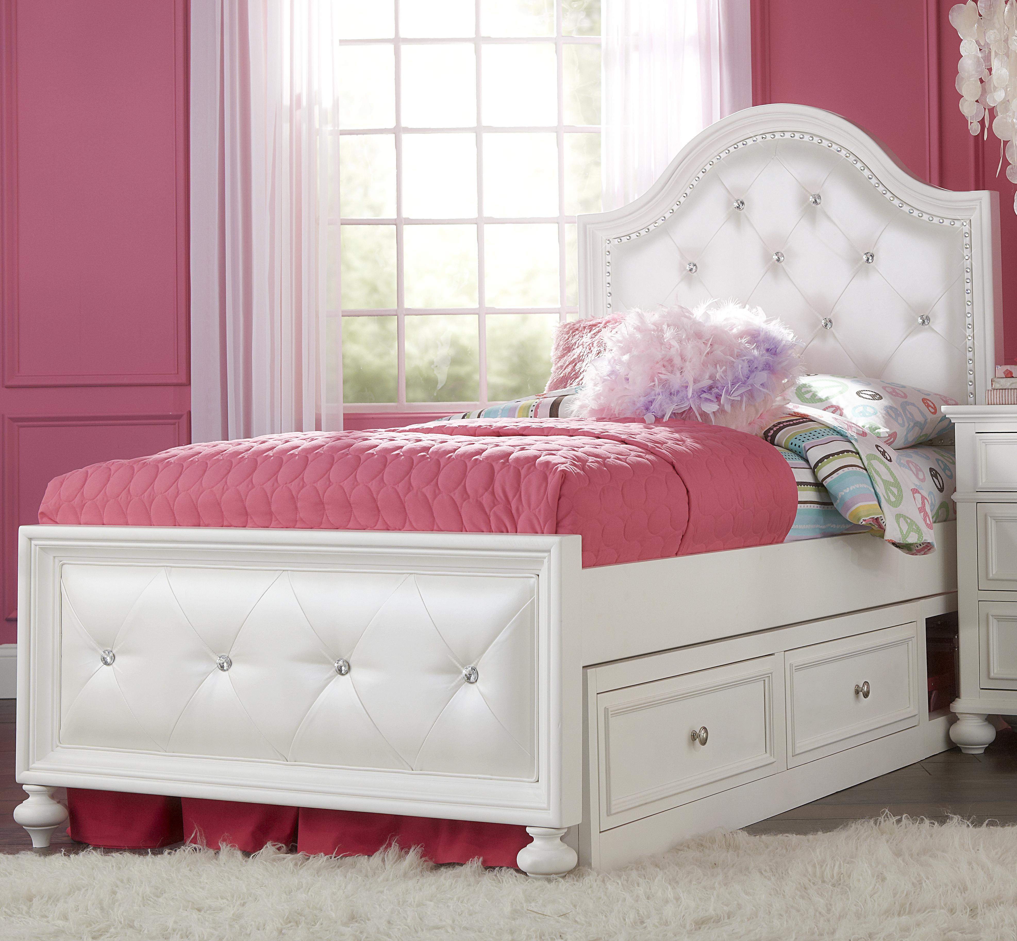 Legacy Classic Kids Madison Full Upholstered Bed With