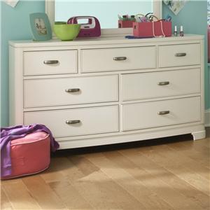 Legacy Classic Kids Park City White Dresser (7 Drawers)