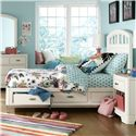 Legacy Classic Kids Park City White Full Platform Storage Bed - Item Number: 9910-4744K