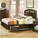Legacy Classic Kids Park City Twin Platform Storage Bed - Item Number: 9980-4733K