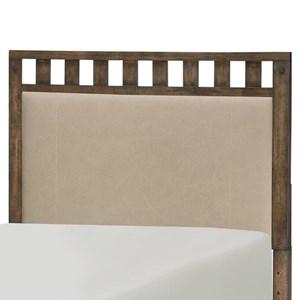 Twin Upholstered Slat Headboard