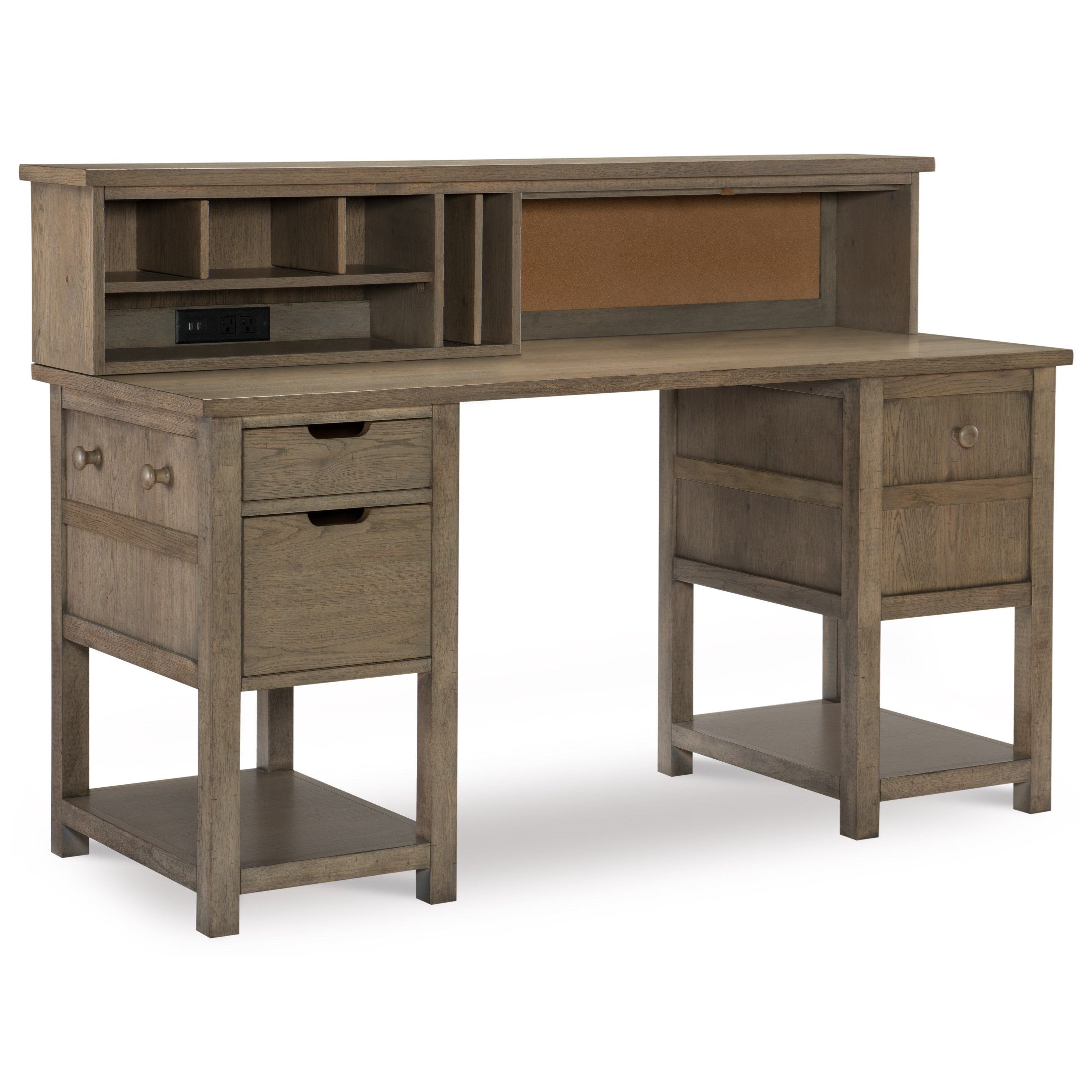 Study Hall Jr. Executive Hutch Desk by Legacy Classic Kids at Jacksonville Furniture Mart