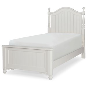 Legacy Classic Kids Summerset Twin Low Poster Bed