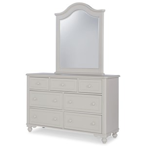 Legacy Classic Kids Summerset Dresser and Mirror Set