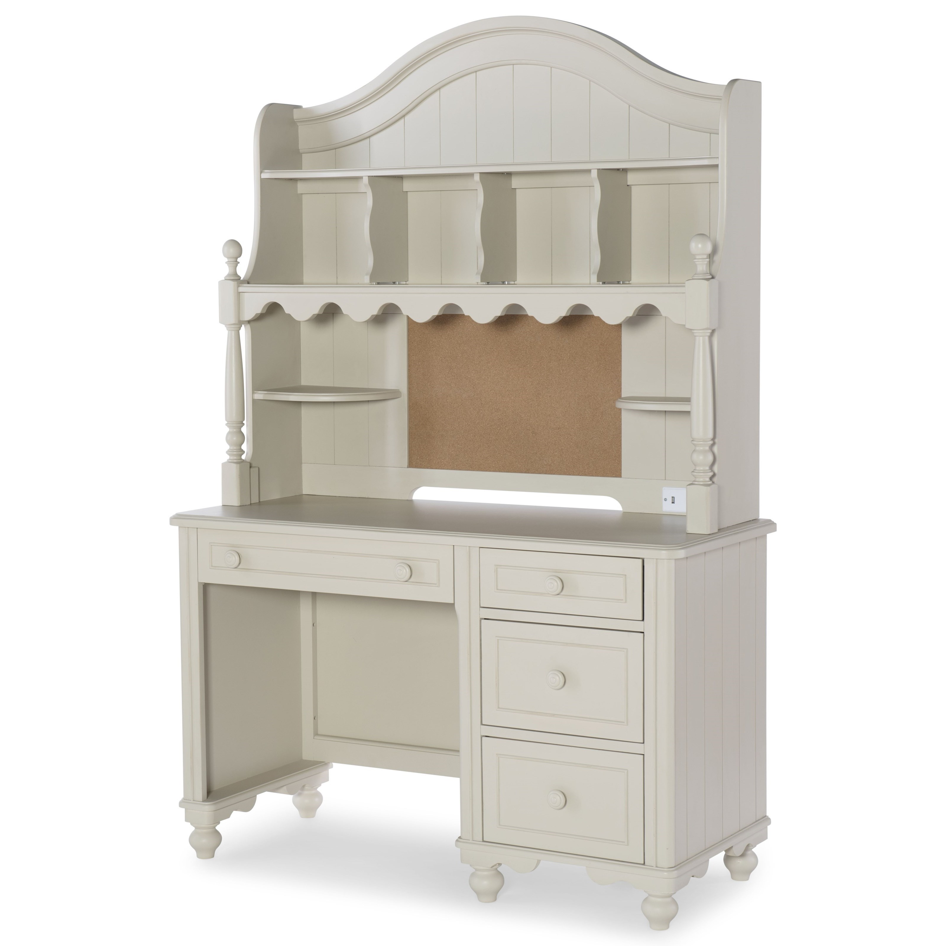 Legacy Classic Kids Summerset Desk with Hutch - Item Number: 6482-6100+200