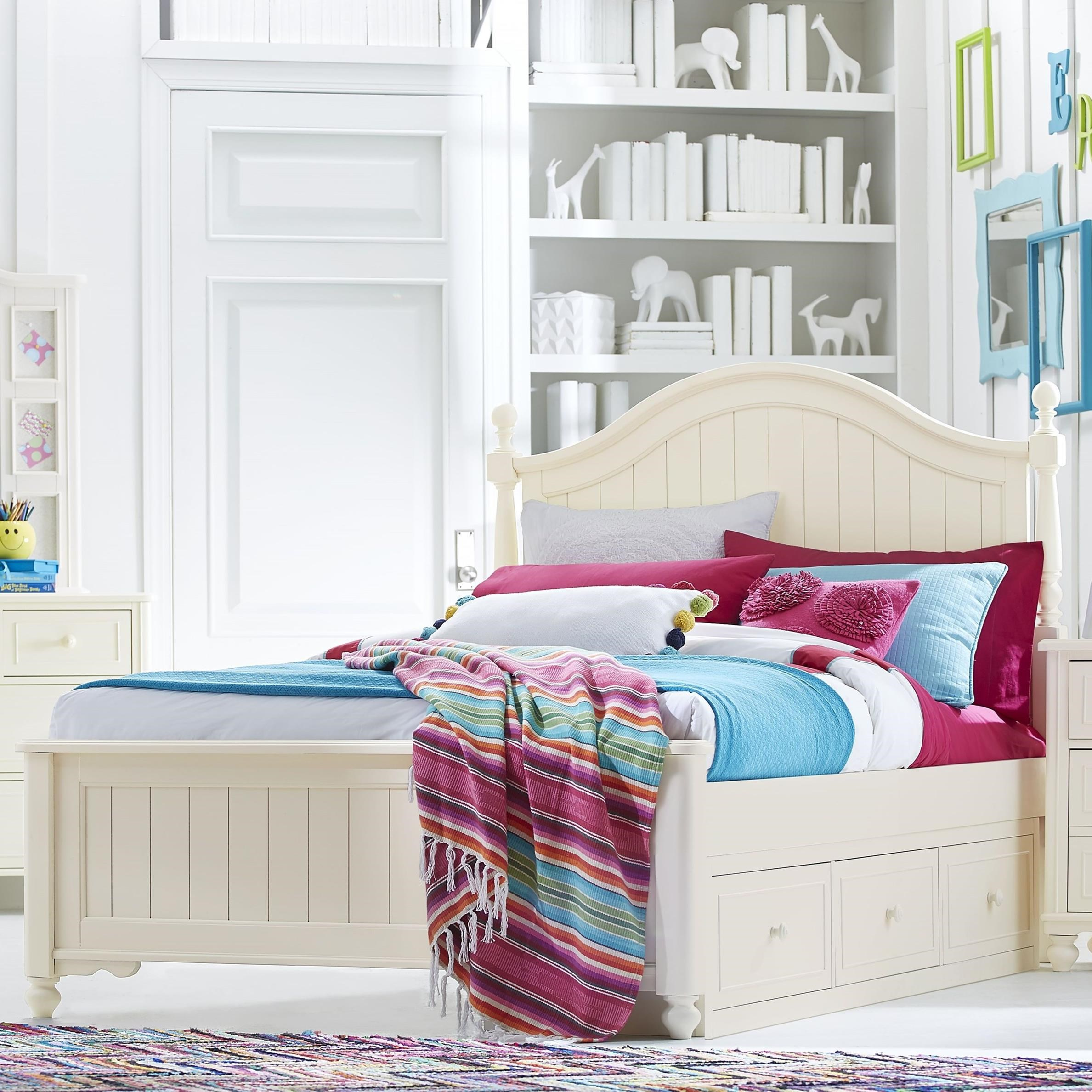 Full Bed with Storage Drawer