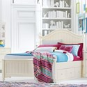 Legacy Classic Kids Summerset Twin Bed with Storage Drawer - Item Number: 6841-4203K+9300
