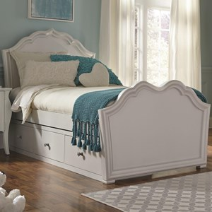 Legacy Classic Kids Tiffany Twin Panel Bed with Storage
