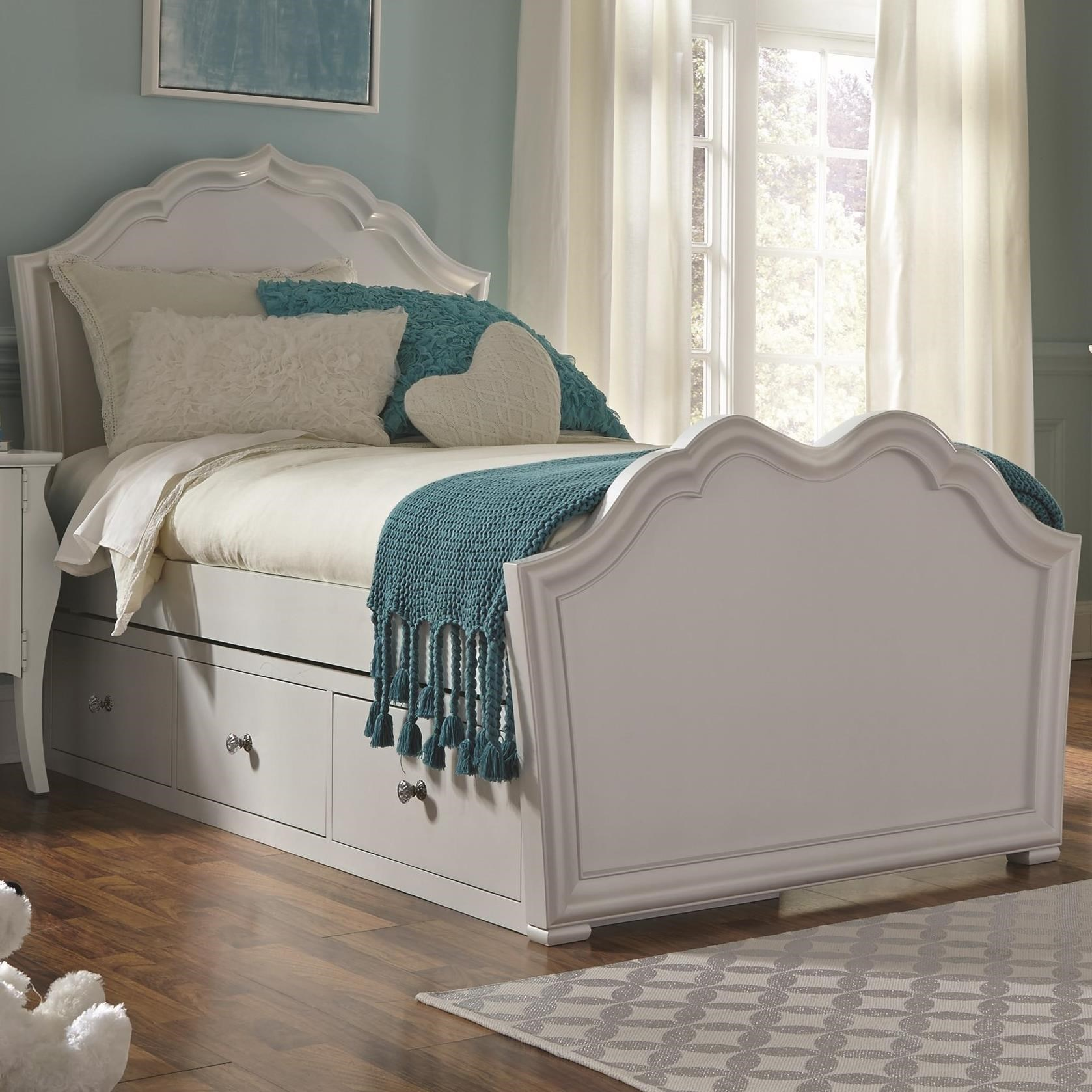 Legacy Classic Kids Tiffany Full Panel Bed with Storage - Item Number: 5930-4104k+9300