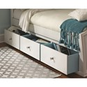 Legacy Classic Kids Tiffany Full Panel Bed with Underbed Storage