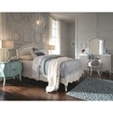 Legacy Classic Kids Tiffany Full Bedroom Group - Item Number: 5930-4804k+7400k+640kd+2x3101a