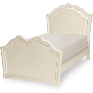 Legacy Classic Kids Tiffany Twin Upholstered Panel Bed