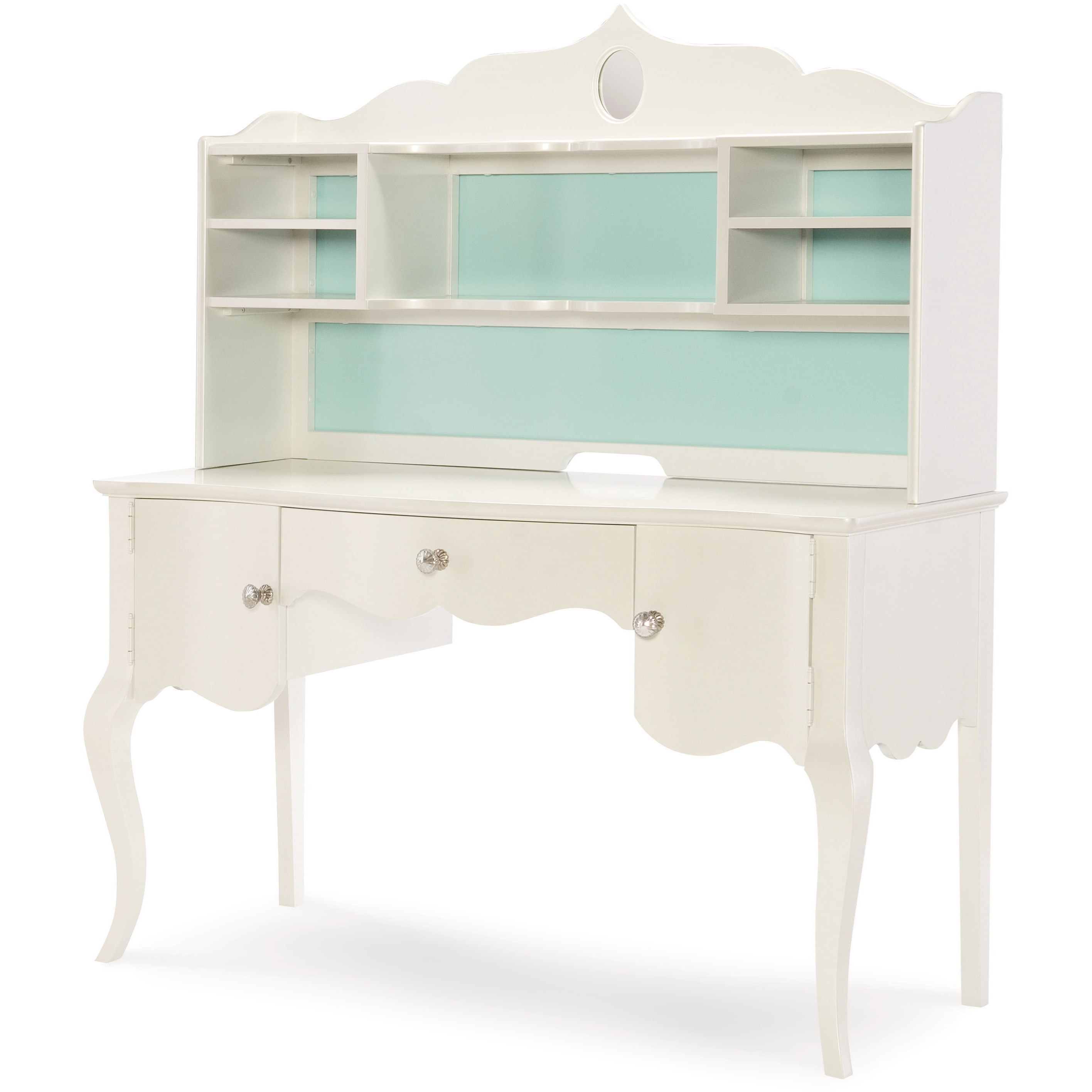 Legacy Classic Kids Tiffany Desk with Hutch - Item Number: 5930-6100+6200