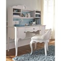 Legacy Classic Kids Tiffany Traditional Table Desk with 2-Doors and Drawer